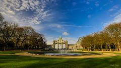 Bruxelles (charliedabas) Tags: de la place luke bruxelles grand muse tintin et parc cinquantenaire bire voie boule dande bille luky etterbeek josaphat dessine shaerbeek fere