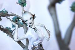 Introducing...Rajeera Baswanni (the_alien_experience) Tags: blue trees white fashion necklace eyes doll ooak alien arctic bjd 16 custom extraterrestrial argo argonautica