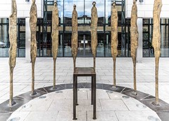 PROCLAMATION BY ROWAN GILLESPIE [ACROSS THE STREET FROM KILMAINHAM GAOL]-113745 (infomatique) Tags: sculpture irishhistory touristattraction proclamation easterrising rowangillespie williammurphy infomatique 1916rebellion zozimuz remember1916 kilmainhanmgaol