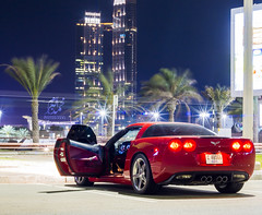 Corvette IN AbuDhabi (Mohammed Alborum) Tags: car sport speed photography dubai uae abudhabi corvette  2016            canon70d mohammedalborum