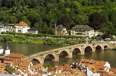 2007 07 Germania - Baden-Wrttemberg - Heidelberg - Alte Brucke 403 (Kapo Konga) Tags: panorama fiume ponte vista heidelberg veduta germania citta citt badenwurttemberg badenwurttemberg