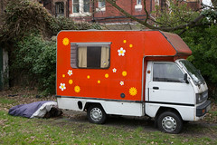 Groovy Caravan (SReed99342) Tags: england caravan camper groovy crosbybeach