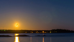 kuu nousee 9 copy (Tapio Kekkonen) Tags: summer moon beach sunrise sailing hanko subset bech finlad