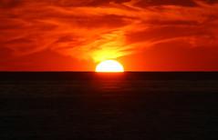 Sunset in Sant Antoni de Portmany, Ibiza (Kinga Nemeth) Tags: sunset red sky sun sol islands spain san tramonto colours down colores espana ibiza goes antonio sole colori sant islas antoni spagna anochecer baleares balearic meraviglioso maravilloso tramonte portmany