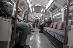 Bakerloo Line - London Underground (Kenco2o11) Tags: street city bridge red people bus london train underground cross transport tube kings wembley bakerloo