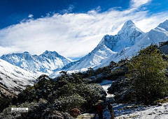Everest_Mt.Amadblam (photosbyrabi) Tags: nepal mountain landscape outdoor hill mountainside everest himalayas ountain mteverest lasdscape mtamadablam