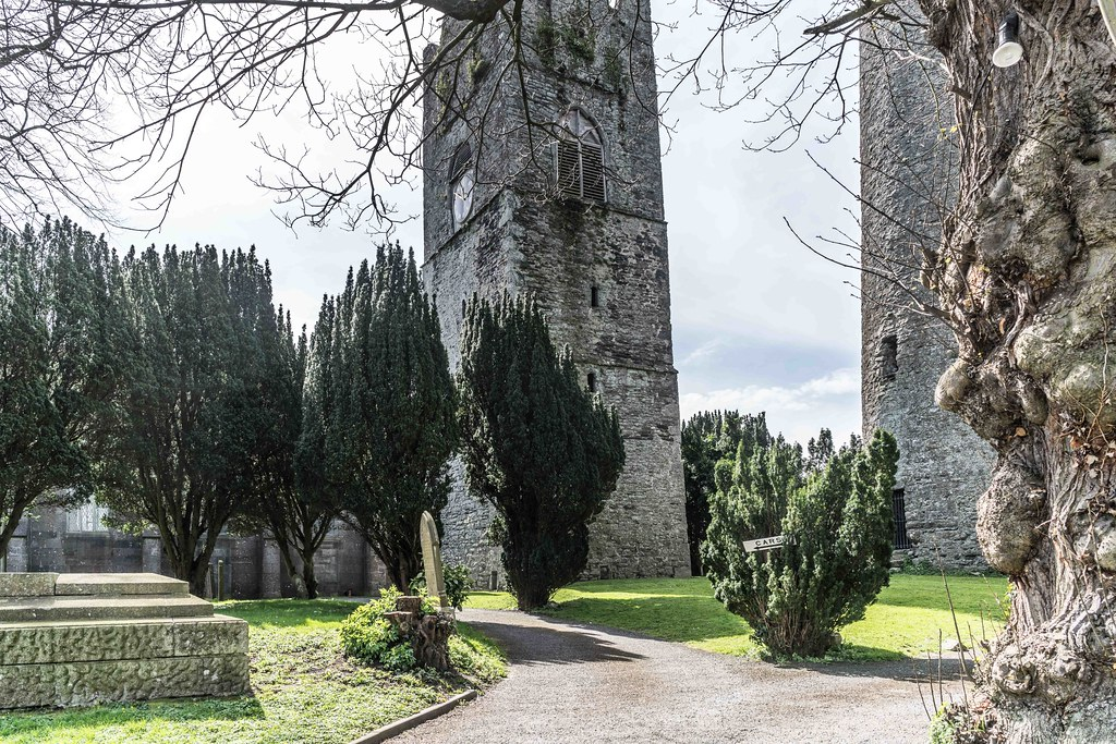 St. Columba's Church And Grounds In Swords County Dublin [Church Road]-115211