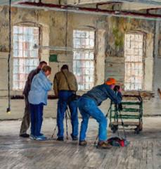 Mill Quartet (Explored) (lclower19) Tags: people painterly mill stone four lawrence photographers whimsical quartet odc hss odt massacusetts explored takeaim artistaimpressopro