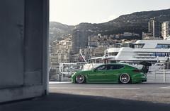 The Corner (AaronChungPhoto) Tags: car monaco turbo porsche v8 slammed stance bagged panamera accuair