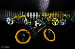 Ready to Ride (Terry L Richmond) Tags: longexposure macro bike fence bokeh bikes micro canon1740 canon6d