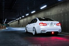 BMW M3 F80 (Fieldstone1993) Tags: car wheel sport japan night tokyo suspension nation engineering bmw m3 stance c1 stoptech agio kohlenstoff jrz checkshop
