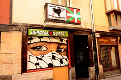 Basque Solidarity (padraicsmeehan) Tags: espaa streetart art colors graffiti spain mural spraypaint basque euskadi vitoria gasteiz vitoriagasteiz paysbasque pasvasco reinodeespaa kingdomofspain