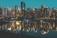no objection with this reflection (Sonika Arora 604) Tags: city nightphotography blue light sky canada reflection nature water beautiful night vancouver reflections landscape outdoors lights nikon rocks cityscape nightlights shadows bc natural outdoor britishcolumbia towers citylife cityscapes naturallight highlights calm citylights stanleypark condos highrises vancity vancouverskyline stanleyparkseawall landscapephotography beautifulbc vancouverseawall stanleyparkdrive nikonphotographer nikonphotography nikonphotographers explorebc explorecanada explorevancouver