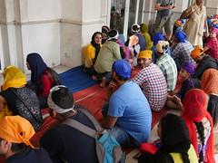 SikhTempleNewDelhi027 (tjabeljan) Tags: india temple sikh newdelhi gaarkeuken sikhtemple gurudwarabanglasahib