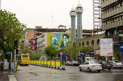 (kamshots) Tags: streets rain town iran down mosque tehran khomeini jomhouri