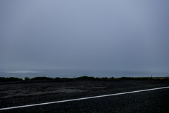 Foggy Ocean (Xynalia) Tags: ocean california road ca beach fog dark landscape coast seaside gray marincounty oceanscape