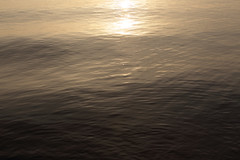(/KENTAMA) Tags: light lake abstract reflection water gold evening ripple wave       nikkor50mmf12 eos6d