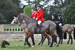 Quorn Hunt, Boxing Day 2015 (Vicktrr) Tags: winter horses horse bay countryside hall day leicestershire traditional hunting fox british hunter piebald boxing tradition cob equestrian loughborough equine hunt foxhunting quorn friesian prestwold sidesaddle 2015