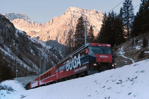 Albula Pass - Preda Naz