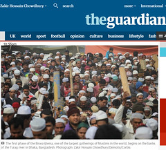 publication in THE GUARDIAN (auniket prantor) Tags: world road street people man male tourism wearing religious community worship asia tour with south muslim islam faith prayer religion pray crowd belief tent wear event human cap believe gathering second editorial ritual inside dhaka friday devotee phase congregation bangladesh crowds preparation largest islamic hajj gather namaz travell tupi jumma bishaw tongi ijtema iztema hujur latestthird