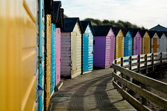 Beach Huts (CAscotPhotography) Tags: sea vacation holiday color colour beach sand nikon cornwall d7100 colourartaward cascotphotography