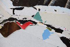 Snowy landscape / Schneelandschaft (wwwuppertal) Tags: paper destruction billboard damage torn abstraction damaged wuppertal papier abstrakt snowlandscape schneelandschaft zerstrung plakatwerbung beschdigt abstraktion plakatwand zerrissen beschdigung schwebebahnstation sonnborn