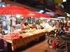 Food stalls (kawabek) Tags: thailand stall motorcycle chiangmai 傘 タイ バイク パラソル เชียงใหม่ ประเทศไทย チェンマイ 露店 ร่ม parsol รถจักรยานยนต์ แผง
