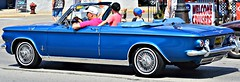 The Kids Are Alright (pinkgengarofficial) Tags: street blue people classic cars car vintage children photography nikon classiccar automobile outdoor michigan streetphotography vehicle woodward mustang fordmustang ferndale bluecar nikond3200 dreamcruise woodwarddreamcruise d3200