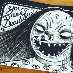 JUNK YARD (billy craven) Tags: youarebeautiful streetartchicago stickergame galerief yabsticker