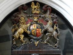 St Peter's Church, Leeds (Sheepdog Rex) Tags: leeds stpeterschurch royalarms