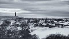 Stoodley (Rory Prior) Tags: winter snow farmhouse landscape farm yorkshire hebdenbridge calderdale mytholmroyd stoodleypike