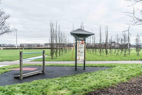 Wind Powered Public Park In Clongriffin Dublin [Father Collins Park]-111001
