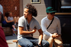 20160117-10-People outside Ecru (Roger T Wong) Tags: summer people coffee australia tasmania hobart iv ecru 2016 canon100f28macro canonef100mmf28macrousm metabones smartadapter rogertwong sonya7ii sonyilce7m2 sonyalpha7ii