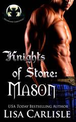 Knights of Stone: Mason (CoverReveals) Tags: highlands highlander scottish romance gargoyles paranormal wolves shifters
