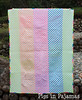 Neon quilt back (pigsinpajamas) Tags: neon quilt fabric batting layercake basting backing jellyroll rileyblake