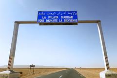 Bienvenue a Adrar    (habib kaki 2) Tags: sahara algeria desert algerie   timimoun adrar timimoune