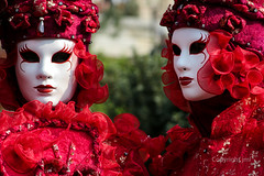 IMG_2855 (photo.jml) Tags: carnaval rouge red masque mask couleurs costumes