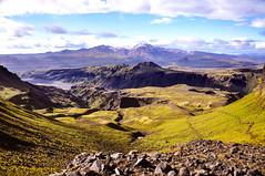 Fimmvruhls (denn0t) Tags: trekking volcano iceland hiking scenic trails mountainside skogar fimmvruhls eyjafjallajkull