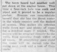 1892 07 - Additional well sunk - 24 years ago - Enquirer - Jul_13__1916_