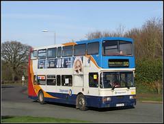 16699 (R699 DNH) Cob Drive (Jason 87030) Tags: bus northampton northamptonshire january vehicle publictransport 50 northants doubledecker joiy oly midlands 2016 16699 olypian pineham r699dnh sweanvalley cobdrive