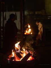 1itawinter15pt2 P1060599 (Concert Photography and more) Tags: nightphotography winter camp italy history night fire costume ancient roman outdoor bynight legionary aquileia ancientroman castrum