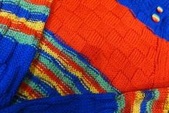 Knitting...for you baby! (sifis) Tags: color wool lumix sweater athens greece pullover lx7 sakalak    sakalakwool