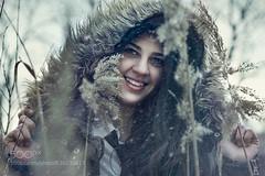 Snow beauty (ptalamy) Tags: winter portrait snow cute girl beautiful beauty smile photography photo women bulgaria 500px