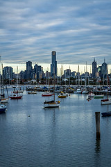 Melbourne as seen from St Kilda (Taariq Maruzook) Tags: st boats pier melbourne kilda