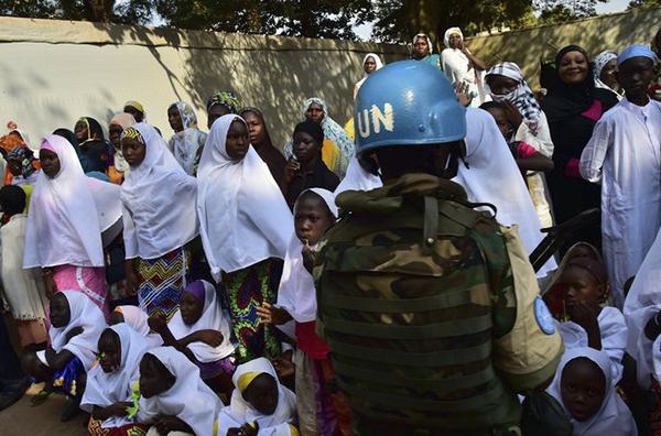 联合国助理秘书长:维和部队士兵性侵1非洲男童(图)
