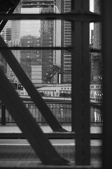 (Brennan Anderson) Tags: street bridge urban blackandwhite bw chicago night canon dark streetphotography chitown explore 2016 85l 85mmf12lii brennananderson 5d3 5dmarkiii brennanandersonphotography