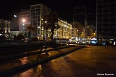 Athens by night (Eleanna Kounoupa) Tags: lighting street people night shadows silhouettes athens greece ελλάδα άνθρωποι historicalcenter αθήνα δρόμου hccity σκιέσ ιστορικόκέντρο σιλουέτεσ φωτισμόσ νυχτερινέσ