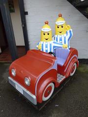 Blakemere Craft Centre - children's ride - Banana's in Pyjamas