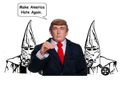 The Klan Backs Trump