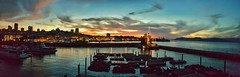 San Francisco by Dusk (Dren P) Tags: california sunset panorama landscape dawn san francisco cityscape dusk pano